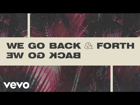 MK, Jonas Blue, Becky Hill - Back & Forth (Lyric Video)