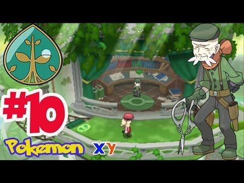 Let's Play Pokemon XY #10 ลุยยิมพืชฟุคุจิซัง! เมก้าลิซาด้อนสู้ตาย!