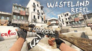 CS:GO - AK-47 | Wasteland Rebel Gameplay