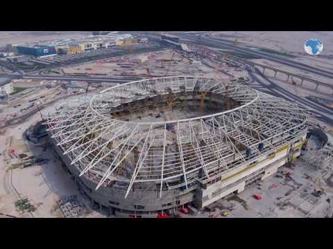 Qatar reveal construction progress of the World Cup 2022 Stadiums