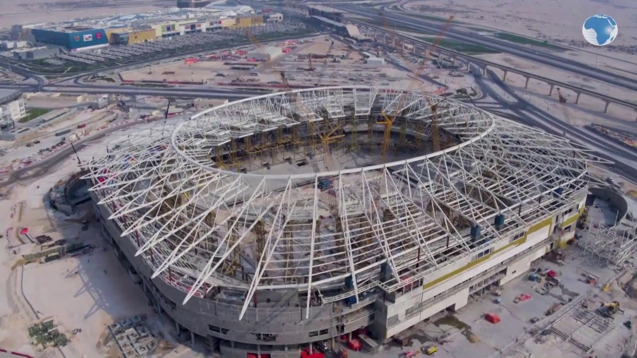 Qatar Reveal Construction Progress Of The World Cup 2022 Stadiums Youtube