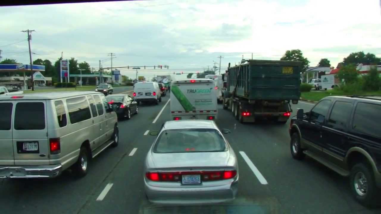 Driving Baltimore City to White Marsh, Maryland