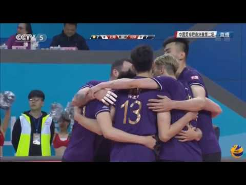 Shanghai vs Beijing  | 12 March 2017 | Final | Chinese Men Volleyball League 2016/2017
