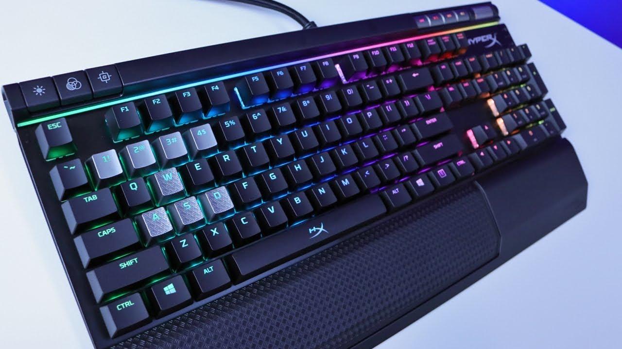 11274f54f3b HyperX Alloy Elite RGB Keyboard Review - YouTube