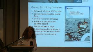 "The Trans-Arctic Agenda 2014 - Day 2 (Part 1/7) - AC Observers, the ""Near-Arctic"" and High North"