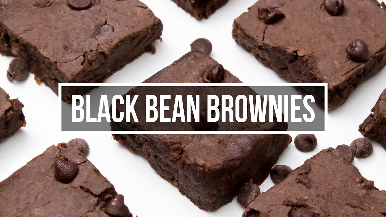 Black Bean Brownies Youtube