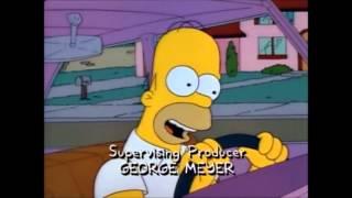 Homer canta sigla Flintstones modificata
