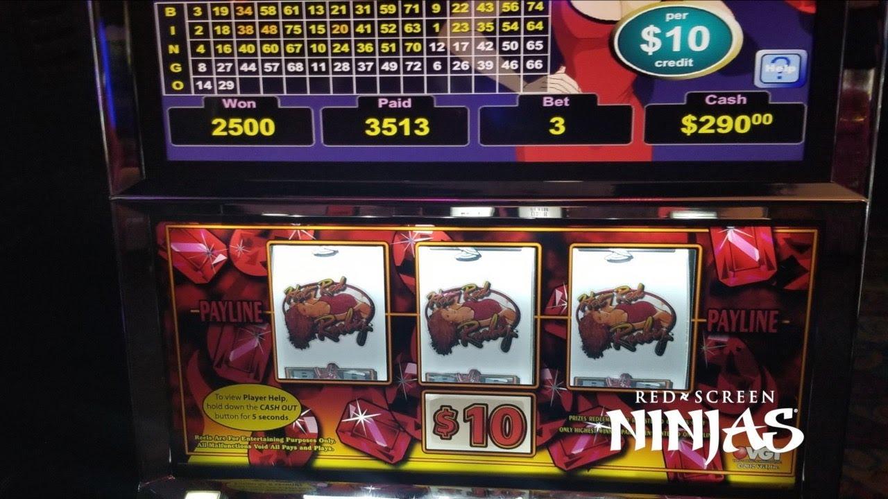 Red Scree Slot Machines