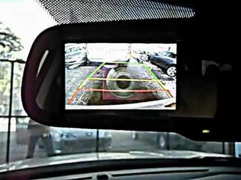 Espejo Retro Tucson Con Camara Y Sensor Youtube