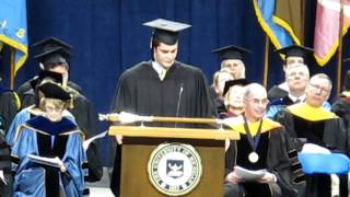 University of Michigan Winter Commencement - Joey McCoy