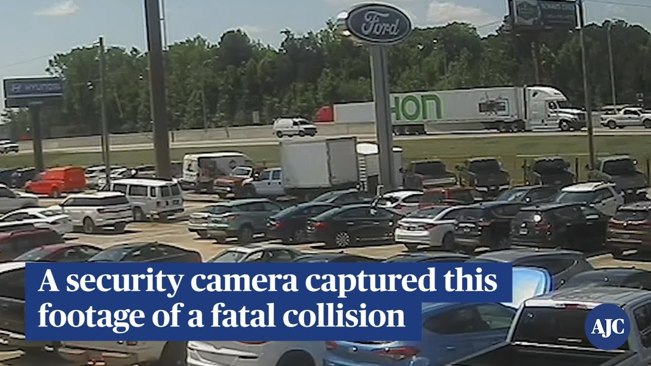 Fatal Crash on I-75 security camera footage