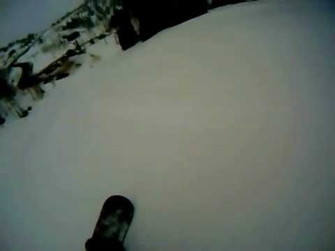 Snowboarding Powder Mountain