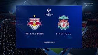 FIFA 20 | RB Salzburg 0 - 3 Liverpool | UEFA Champions League Highlights