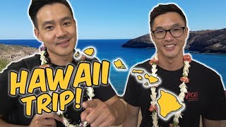 WONG FU GOES TO HAWAII!!