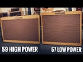 The Two Most Valuable Fender Twin Amps - Comparison - YouTube
