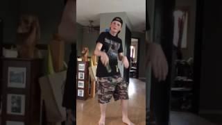 boys cucumber dance