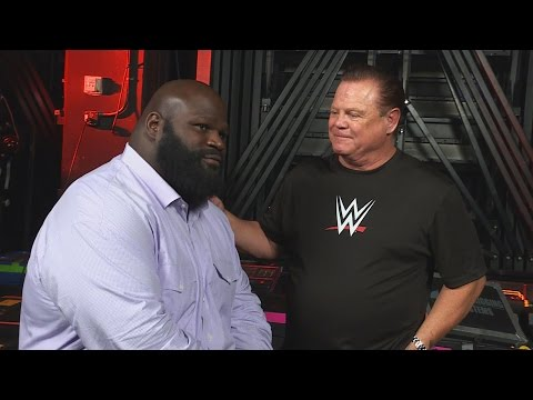 """Mark Henry and Jerry """"The King"""" Lawler reunite: Sept. 22, 2016"""