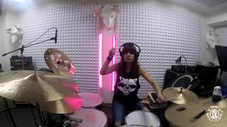 NERVOSA – Perpetual Chaos (Drum Playthrough) | Napalm Records