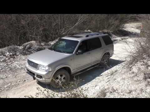 Красивые места в Крыму тест внедорожника Ford Explorer 3