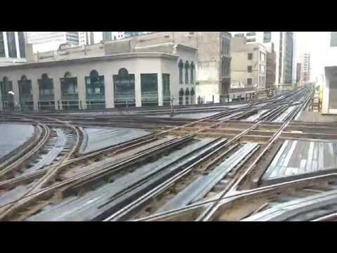 CTA Brown Line ride from Adams/Wabash to Kimball