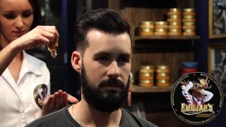 emilian s grooming products pomade and beard oil pommade et huile a barbe