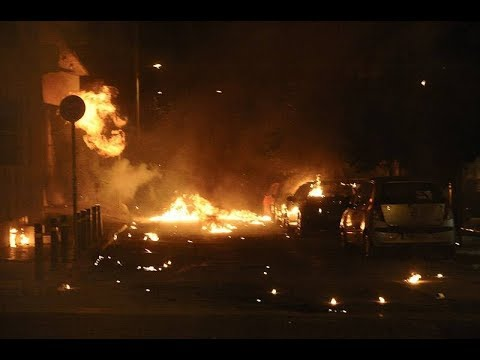 Riot erupts in Athens during Antifa protest for the murder of Pavlos Fyssas by Golden Dawn neonazis