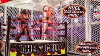 "Wwe Action Insider: The Cell Playset Tru Exclusive Review Mattel Ring ""grims Toy Show"""