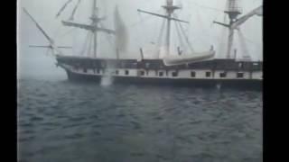 Hampton Roads battle part1 - CSS Virginia rampage