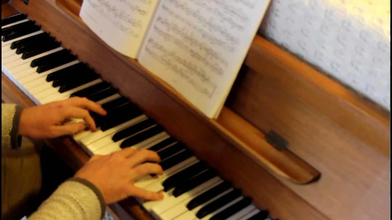 Grade 8 piano ABRSM, A2 Prelude in A, Bach, 2013-2014 ...