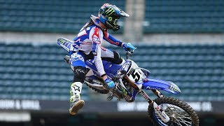 We caught up with Shane McElrath, Cooper Webb, Justin Barcia, and D...
