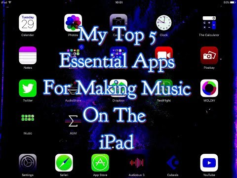 My Top 5 Essential App For Making Music On The iPad