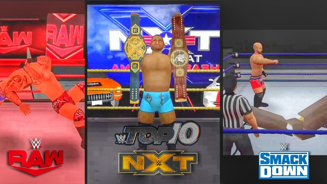 WR3D 2K20: Raw+Smackdown+NXT Top 10 Moments #1