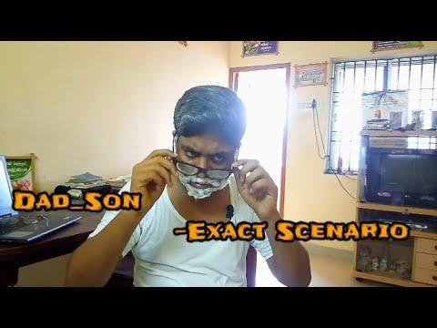 Dad and son exact scenario