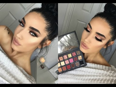 HUDABEAUTY TEXTURED SHADOWS PALETTE HONEST REVIEW, SWATCHES AND TUTORIAL