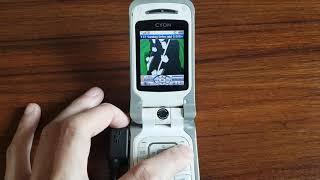 옛날폰 LG PHONE 전원켜는 소리 논위피폰(LG-K…