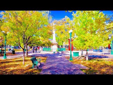 A Walk Around The Santa Fe Plaza, Santa Fe, New Mexico