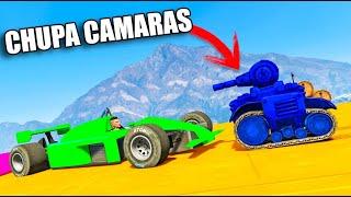MI PRIMER CHUPACÁMARAS CARA A CARA EPICO ! GTA V ONLINE - GTA 5 ONLINE