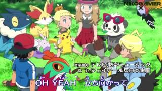 Pokemon XY Opening 3 ~ Español Latino Fandub ~ Getter Ban Ban HD