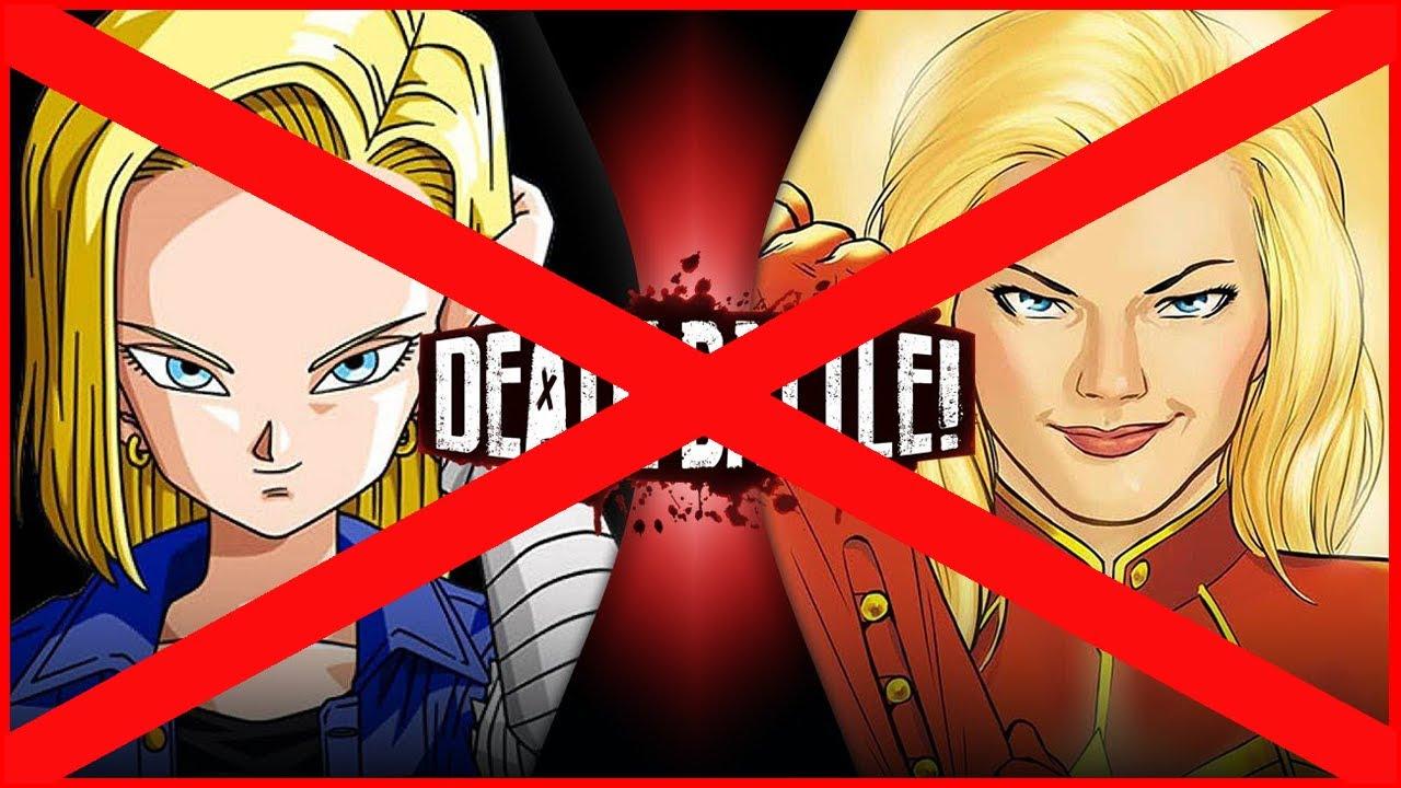 Android 18 VS Captain Marvel Debunked