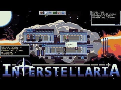 Interstellaria Gameplay Introduction (Space Sim/Sandbox)