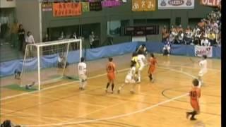 2005.5.23 駒沢体育館にて開催された芸能人女子フットサルの試合。HD表...