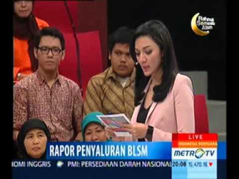 Indonesia Bersuara: Rapor Penyaluran BLSM (1) | Metro TV
