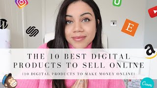 10 BEST DIGITAL PRODUCTS TO SELL ONLINE 2020 | PASSIVE INCOME IDEAS 2020