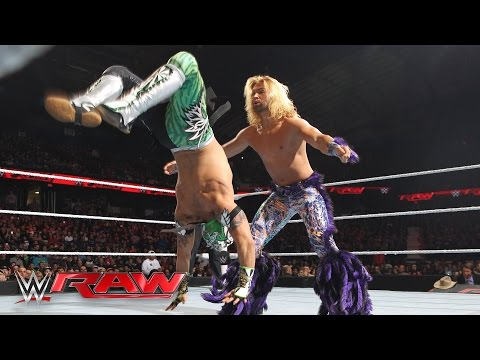 Kalisto vs. Tyler Breeze: Raw, March 7, 2016