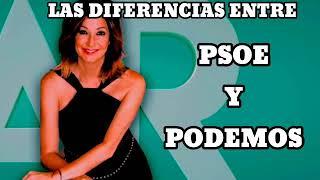 ANA ROSA NOS HABLA DE LAS DIFERENCIAS ENTRE EL PSOE Y PODEMOS...DONDE SALTAN CHISPAS