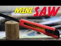 How to Make a Mini Retractable Saw