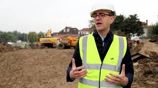 Work starts to build homes at Beechwood Avenue