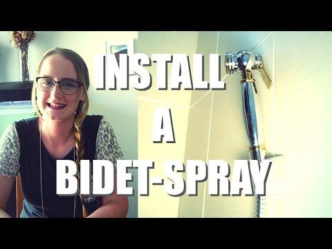 How to Install a Bidet Spray | Easy DIY