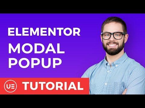 Elementor Widgets - Modal Popup for Elementor