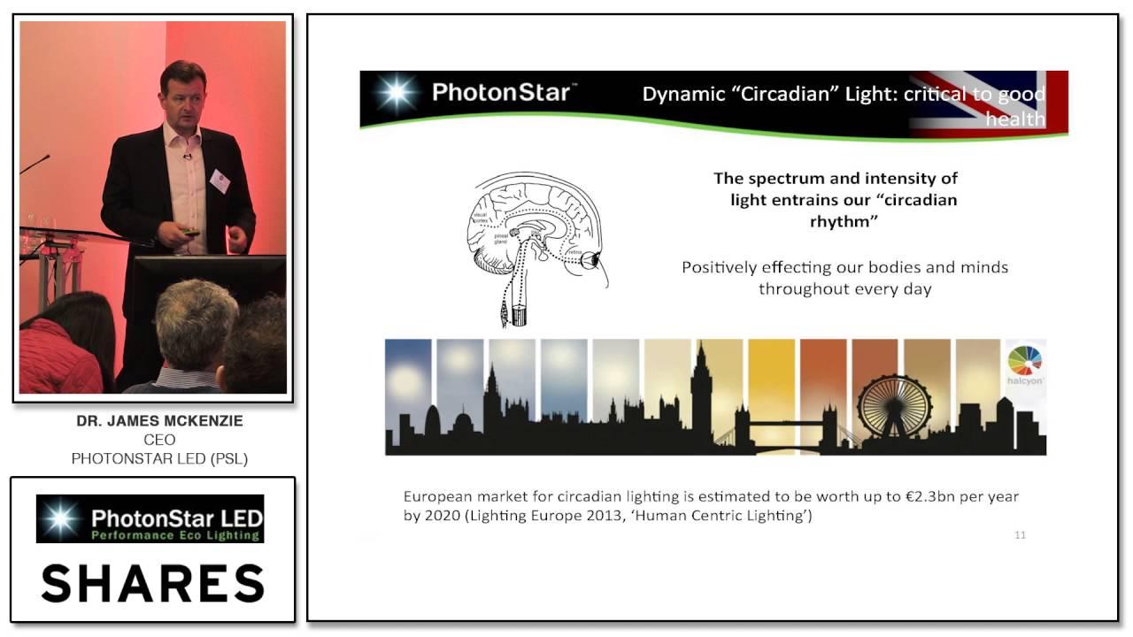 dr james mckenzie ceo of photonstar led psl at shares investor